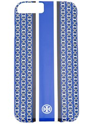 Tory Burch Gemini Stripe Iphone 6 Case Blue