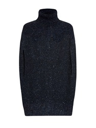 Valentino Wool And Cashmere Blend Cape