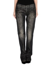 Shaft Denim Denim Trousers Women Steel Grey