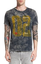 True Religion Men's Brand Jeans '02' Dyed Graphic T Shirt