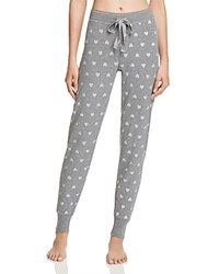 Pj Salvage Wild Heart Jogger Pants Heather Gray