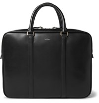 Paul Smith Grained Leather Briefcase Black