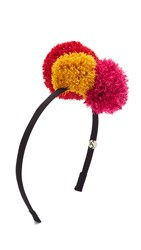 Eugenia Kim Lorelei Headband Black Multi