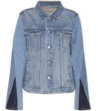 Grlfrnd Bianca Denim Jacket Blue
