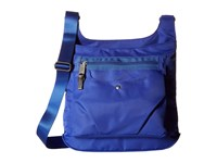 Baggallini Savvy Top Zip Crossbody Cobalt Cross Body Handbags Blue