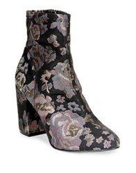 Kenneth Cole Reaction Time For Fun Textile Booties Black Multi