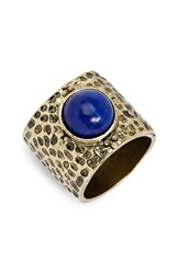 Sole Society Natural Stone Ring Blue