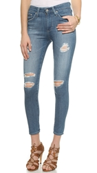 Ag Jeans Farrah High Rise Skinny Jeans 14 Year Open Air