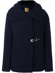 Fay Wide Lapel Jacket Blue