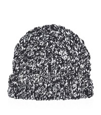 Sandro Flakes Hat Unisex Black