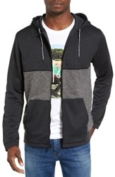 Hurley Men's Dri Fit Disperse Colorblock Zip Hoodie