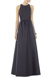 Alfred Sung Women's Sateen Gown Onyx