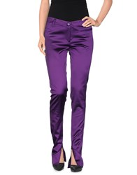 Pinko Trousers Casual Trousers Women Purple