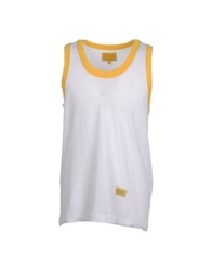 Freshjive Sleeveless T Shirts White