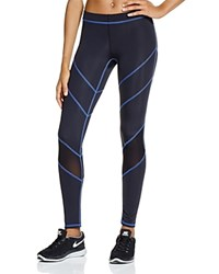 Zara Terez Mesh Paneled Leggings Royal Stitch