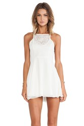 Lovers Friends Catalina Fit And Flare Dress Ivory