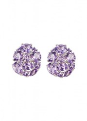 Apples And Figs Amethyst Blossom Studs