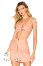 For Love And Lemons Creme Puff Bra Top Pink