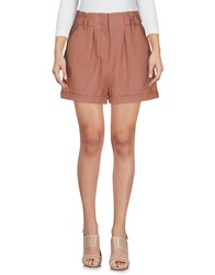 Selected Femme Shorts Brown