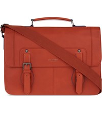 Ted Baker Miamore Leather Satchel Orange