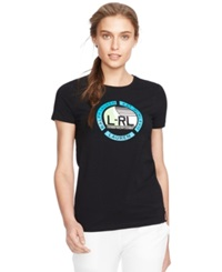 Lauren Ralph Lauren Nautical Print Graphic T Shirt