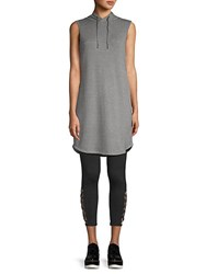Gaiam Juliette Sleeveless Hooded Dress Flint Grey