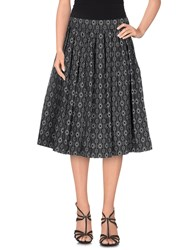 Trou Aux Biches Skirts Knee Length Skirts Women Steel Grey