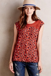 Meadow Rue Mackenzie Blouse Brown Motif