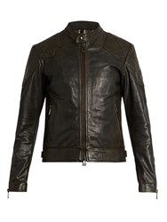 Belstaff Outlaw Leather Jacket Black