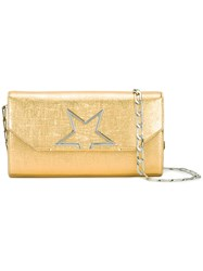 Golden Goose Deluxe Brand Vedette Star Bag Women Calf Leather Polyurethane One Size Metallic