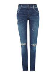Replay Kellygray Straight Fit Jeans Blue