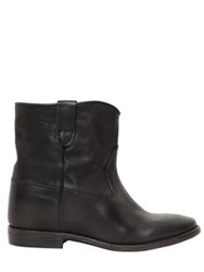 Isabel Marant Etoile 70Mm Cluster Black Leather Boots