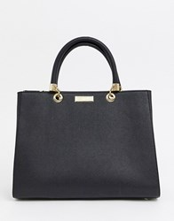 Carvela Structured Tote Bag Blk Other Black