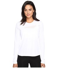Spyder Blytz Long Sleeve Tech Tee White White Women's T Shirt