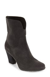 Blondo Women's 'Fay' Waterproof Ankle Boot Dark Grey Suede