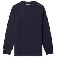 Armor Lux 01901 Fouesnant Crew Knit Blue