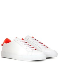 Givenchy Urban Knots Leather Sneakers White