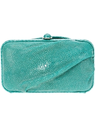 Zagliani 'Amira' Clutch Green