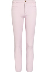 Isabel Marant Lucas Mid Rise Skinny Jeans Pink