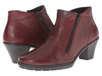 Rieker 57181 Medoc Cristallino Burgundy Parma Women's Dress Boots
