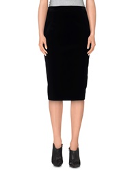 Alberto Biani 3 4 Length Skirts Black