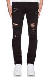 Stampd Distressed Essential Jean Black