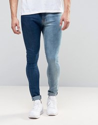 Brooklyn Supply Co. Co Two Tone Jeans Bl1 Blue 1