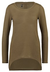Only Onlsola Jumper Military Olive Dark Green