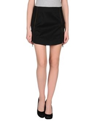 Cora Groppo Mini Skirts Black