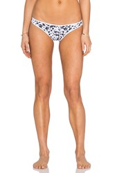 Nookie Riptide Bikini Bottom Black And White