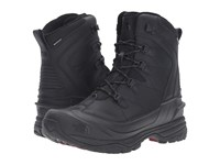 The North Face Chilkat Evo Tnf Black Rudy Red Men's Lace Up Boots