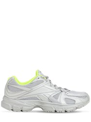 Vetements Spike Runner 200 Sneakers Silver