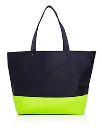 Deux Lux Barre Color Block Tote Compare At 80 Navy