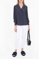 Frame Denim Women S Polka Dot Shirt Boutique1 Nypd